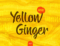 Free Yellow Ginger Script Font