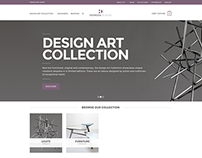 HEMERA DESIGNS - Web Site E-commerce