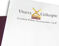 Y&G CPA, Logo + Stationery