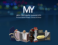 Perfume Bottles Project - Concept & Design