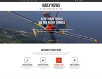 DailyNews - Magazine   Blog   Personal WordPress Theme