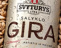 ŠVYTURIO SALYKLO GIRA / SVYTURIO MALT KVASS