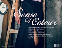 Sense of Colour for HUF Magazine