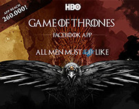Game of Thrones Facebook app