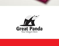 Great Panda Logo Template