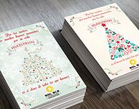 Diseño de tarjetas para RADIO SOL 91.5