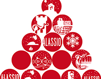 Gallery posters for Christmas events 2014 - ALASSIO