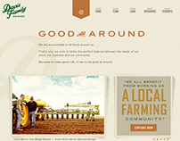 Davis Family Dairies Website