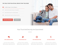 Clean Corporate Startup Wordpress Theme (Contest Entry)