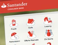 Santander Consumer Bank Italia website