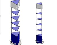 3-sided stand