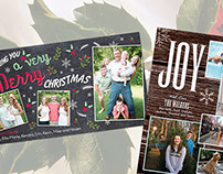 Holiday Cards and Magnets