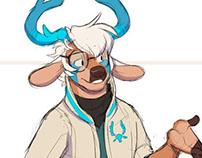 Deer Dude WIP