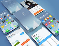 Snow Mountain - Designed for Meizhu Flyme Mobile Theme