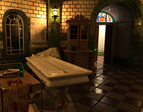 3D Work - Victorian Mortuary