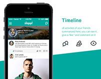 Slapp Social Media App