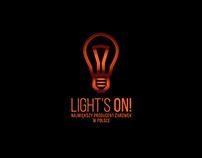 Light's on! visual identity