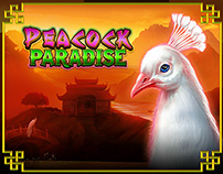 Peacock Paradise - Slot Game Design