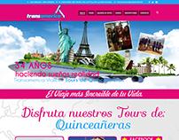 Transamerica Viajes - Rediseño Quinceañeras Venezuela