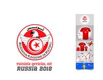 Tunisia Kit - World cup 2018