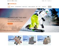 WS Snowlife Shopping WordPress Theme