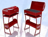 Asador Coca Cola