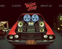 The Voice Shop Splash Graphic