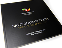 British Asian Trust Dinner - Event Brand Design