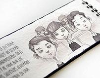 Kromópolis, experimental illustrated book