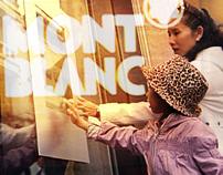 Montblanc interactive window Montenapoleone 27b