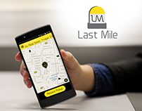 Last Mile - Ride sharing app UI/UX