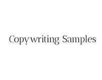 Copywriting Samples @ Red Ventures