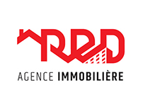BRANDING : R E D AGENCE IMMOBILIERE
