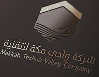 Makkah Techno Valley Company Logo & Identity