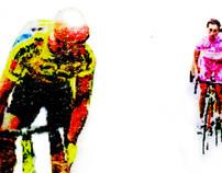 Marco Pantani tshirt graphic