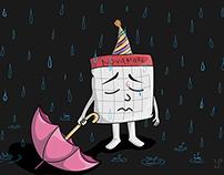 November Rain Illustration