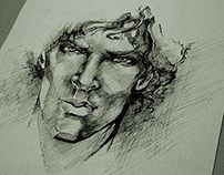 Illustration | Sherlock | Benedict Cumberbatch