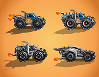 Truck Designs for an Upcoming Game