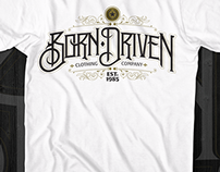 Born Driven t-shirt designs