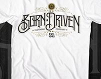 Born Driven t-shirt designs