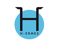 """H-ermes. Journal of Communication"" Logo + Covers"
