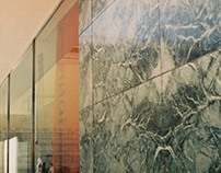 German Pavilion by Mies van der Rohe