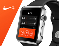 Nike - iWatch Concept