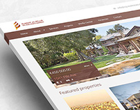 Raj Real Estate Company - Website Design