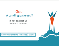 landing page wizzora