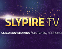 SlypireTV, Youtube cover design