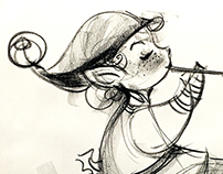 5 mins sketches