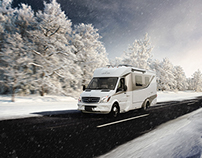 Christmas Image - Leisure Travel Vans