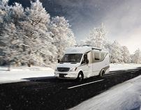Christmas Image - Leisure Travel Vans
