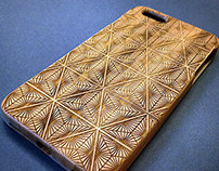 Laser Engraved Iphone 6 Plus Bamboo Case